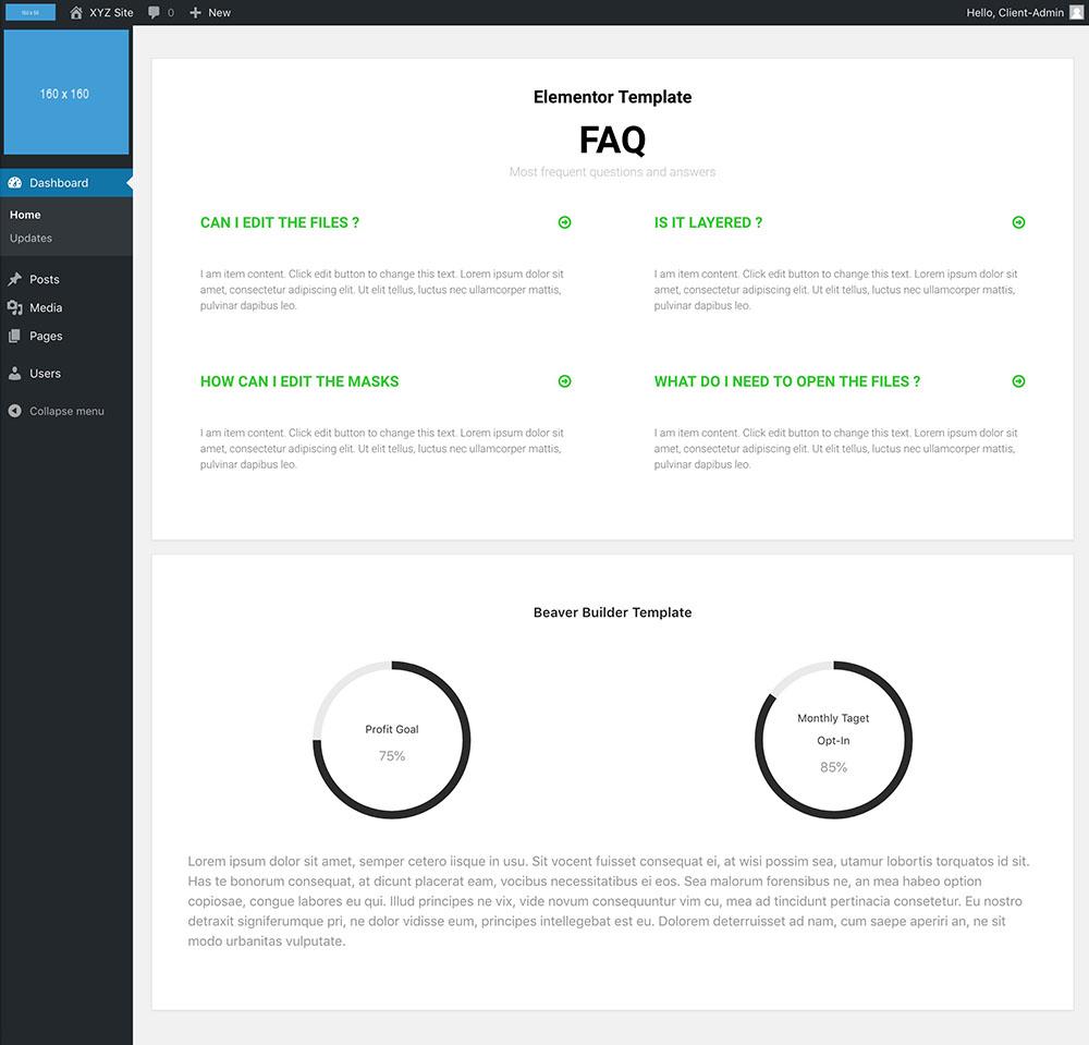Customizando o Dashboard do WordPress
